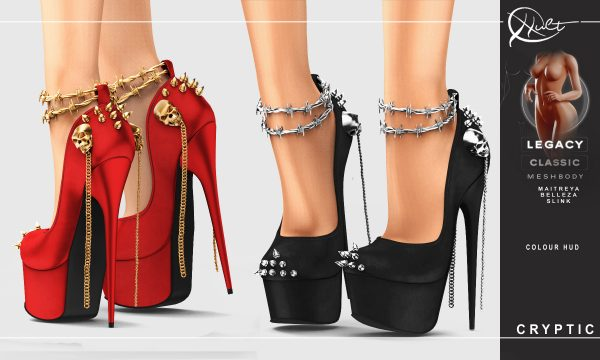 Cult - Cryptic Heels. L$269 Demo Available ★.