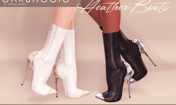 Garbaggio - Heather Boots. Individual L$99 each | Mini Packs L$299 each | Fatpack L$499 Demo Available.