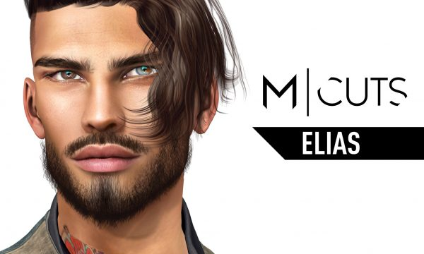 Modulus - Elias Hair. Individual L$320 each | Fatpack L$1,020 Demo Available ★.
