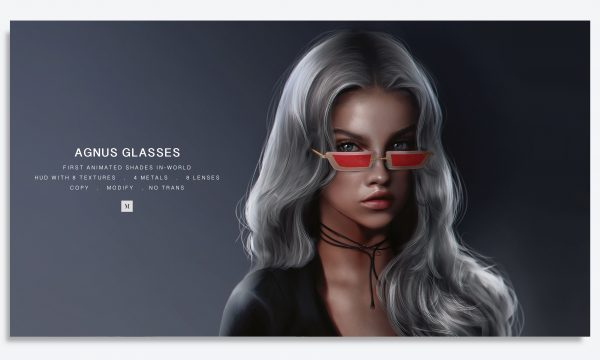 Mulloy - Agnus Glasses. L$399 Demo Available ★.