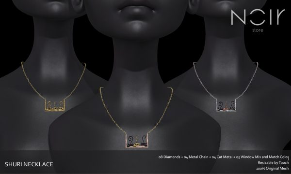 NOIR Store - Shuri Necklace. L$199.