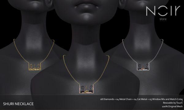 NOIR Store - Shuri Necklace. L$199.