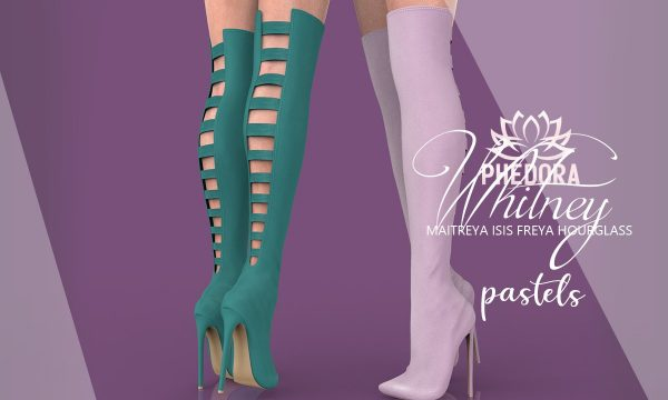 phedora - Whitney Boots. Minipack L$299 | Megapack L$699 Demo Available.