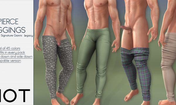 RIOT - Priya & Pierce Strip Leggings. Individual L$199 each | Fatpacks L$1,299 each Demo Available.