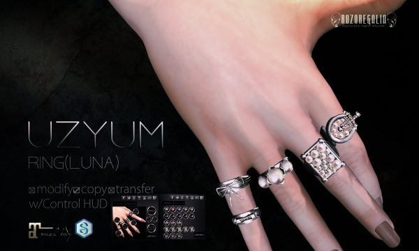 ROZOREGALIA - UZYUM Ring. L$290  Demo Available.