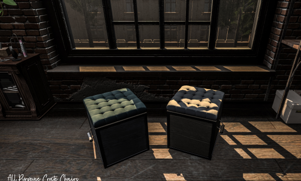 Stockholm&Lima - All Purpose Crate Chairs. PG L$250 | Adult L$1,200.
