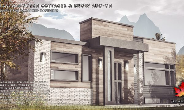 Trompe Loeil -  Belasco Modern Cottage. L$625 | Snow Add On L$100.