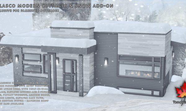 Trompe Loeil -  Belasco Modern Cottage. L$625 | Snow Add On L$100.