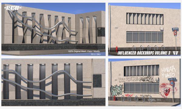 Versov - Influencer Backdrops. L$399.