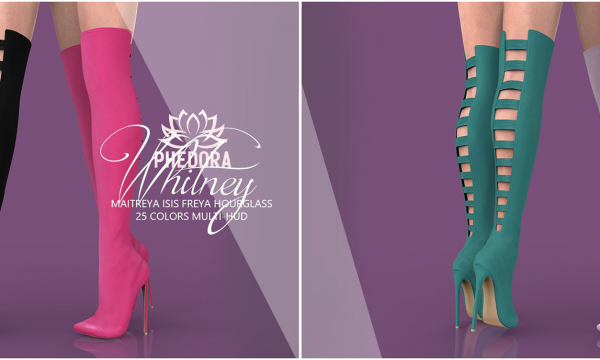 phedora - Whitney Boots. Minipack L$299 | Megapack L$699 Demo Available ★.