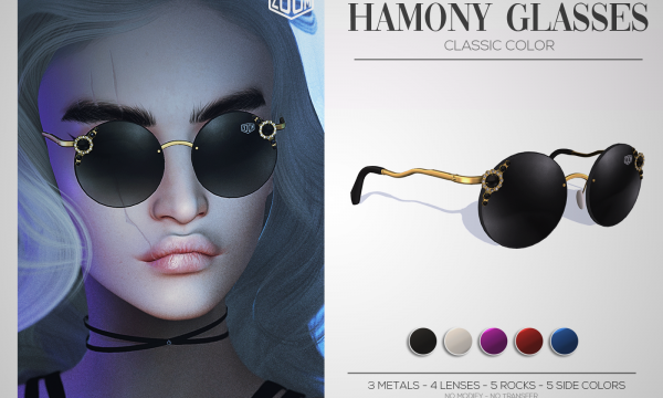 ZOOM - Harmony Glasses. L$299 Demo Available.