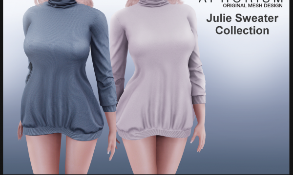 !APHORISM! - Julie Sweater. Individual L$249 each | Fatpack L$999. Demo Available ★.