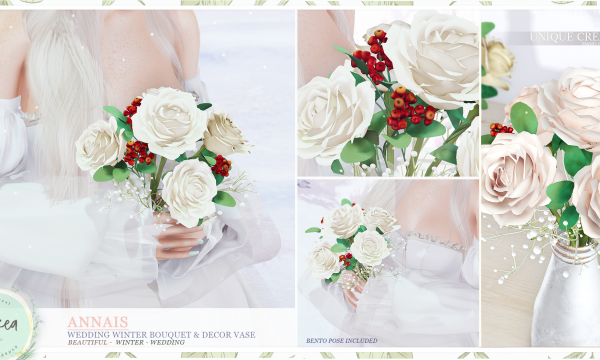 ariskea - [Annais] Winter Flowers Bouquet. L$199 each.