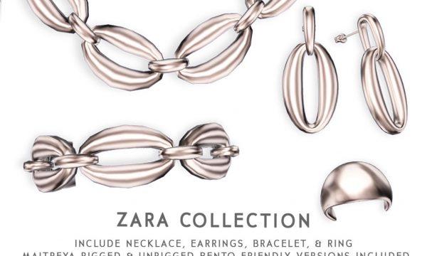 Cae - Zara. Individual L$245 - L$395 | Fatpack L$645.