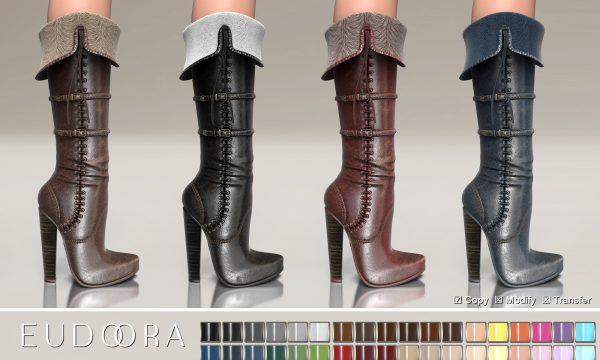 Eudora3D - Harper Boots. L$599. Demo Available.