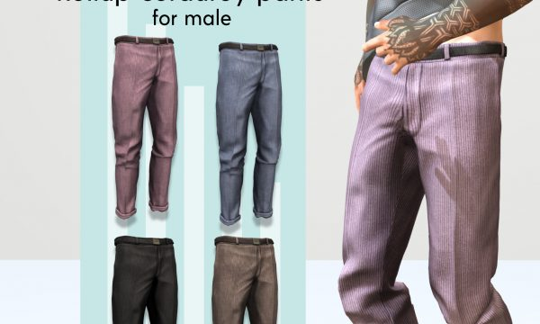 Gild - Chunky Hot Sweater & Roll Up Corduroy Pants. Individual L$154-L$220 | Fatpack L$680. Demo Available ★.