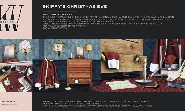 KraftWork - Skippy's Christmas Eve by Skippy Beresford. L$499.