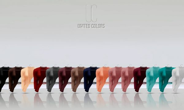 United Colors - Jeny Jacket. Individual L$249 each | Fatpack L$2,299. Demo Available.