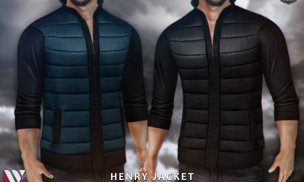 Volver - Henry Jacket. Individual L$229 each | Fatpack L$999. Demo Available.