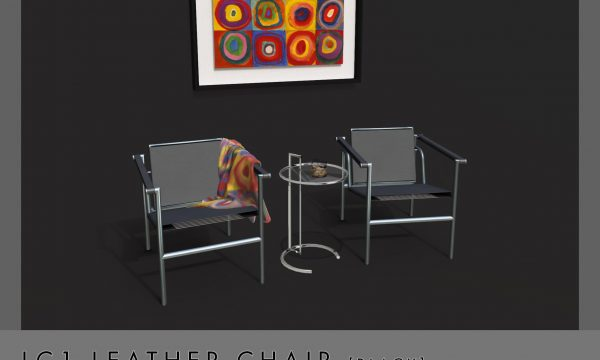 Convair - LC1 Leather Chair. L$200.
