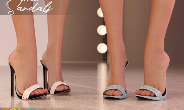 EQUAL - Ayla Sandals. Individual L$250 | Fatpack L$1199. Demo Available ★.