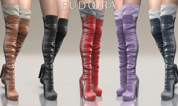 Eudora3D - Raven Boots. Minipacks L$399 each | Fatpack L$999. Demo Available ★.