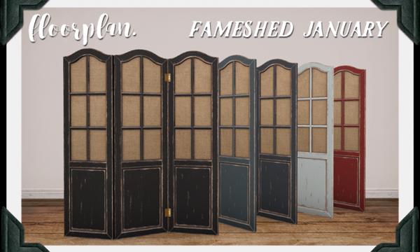 floorplan. / brocante. - floorplan. shaded room divider. L$175.