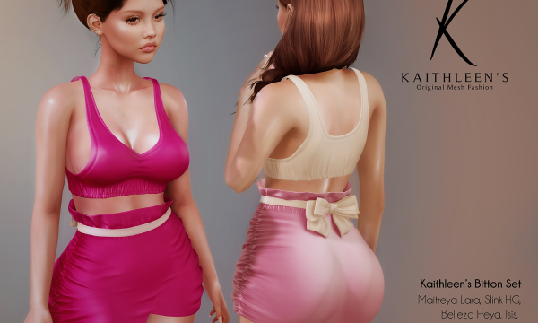 Kaithleen's - Bitton Set. Individual L$249 | Fatpack L$1,499. Demo Available ★.