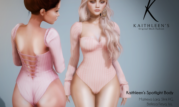 Kaithleen's - Spotlight Body. Individual L$269 | Fatpack L$1499 Demo Available ★.