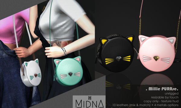 Midna - Millie PURRse. L$199. Demo Available.