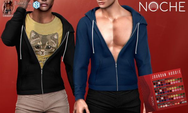 NOCHE - Jourdan Hoodie. Individual L$249 | Fatpack L$1199 . Demo Available ★.