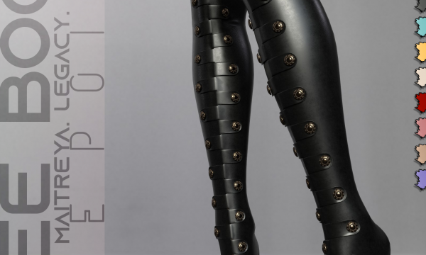 Pure Poison - Aimee Boots. L$299. Demo Available.