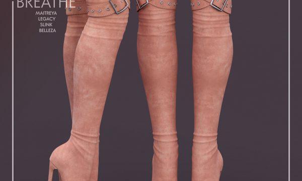 [BREATHE] - Sakumi Heels & Tokiyo Heels. Individual L$250 | Minipacks L$400 | Fatpacks L$1500. Demo Available.