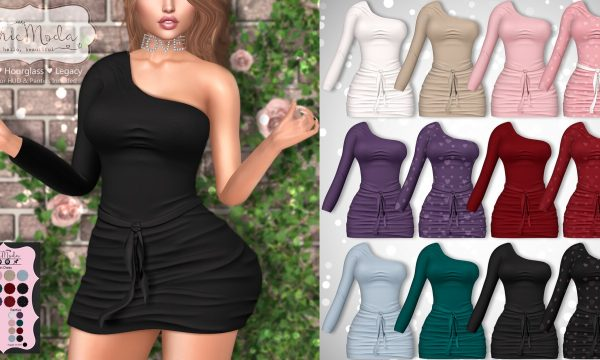 ChicModa - Viola Dress. Individual L$199 | Fatpack L$1199. Demo Available ★.
