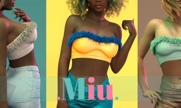 MiU - Rose Top. Individual L$280 | Fatpack L$1500. Demo Available.