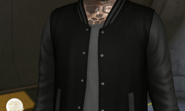 etham - Varsity Jacket. Individual L$199 | Fatpack L$499. Demo Available ★.