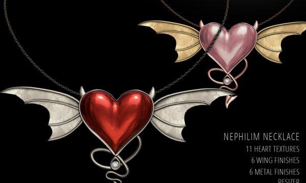 Rise Design - Seraphim & Nephilim Sets. Minipacks L$299 each | Fatpack L$499.