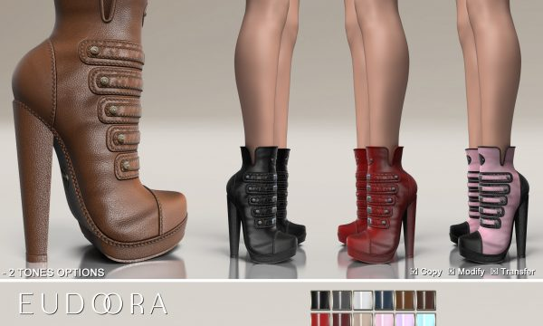 Eudora3D - Gerry Boots. L$399 Demo Available.