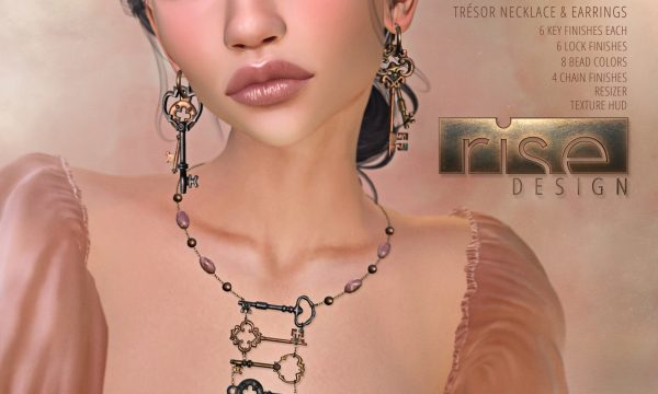 Rise Design - Tresor Set. Individual L$199 - L$299 | Fatpack L$399.