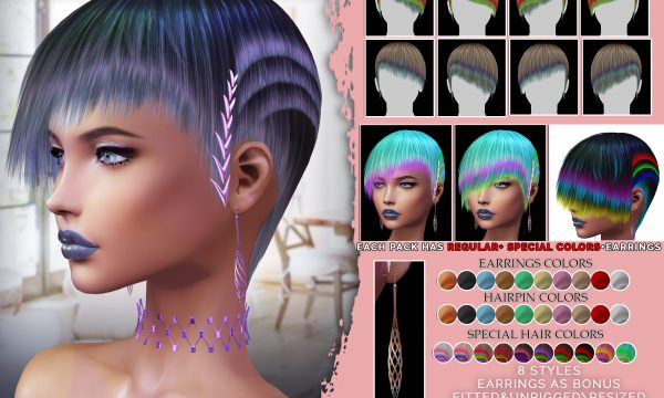 Sintiklia - Talia Hair. Singles L$300 | Minipacks L$400-L$425 | Fatpack L$1,000 Demo Available.
